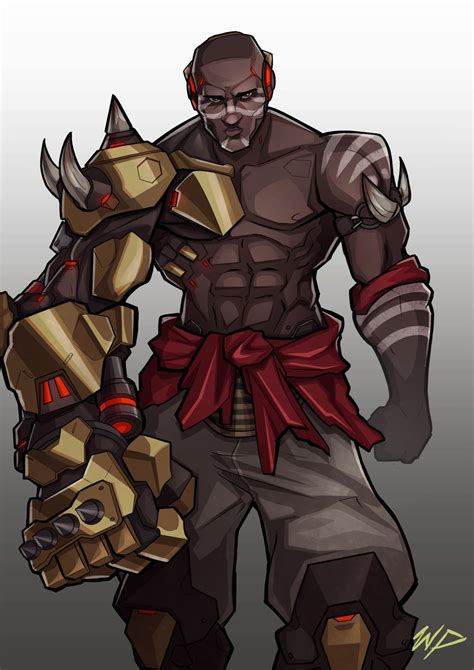 doomfist by puekkers on deviantart