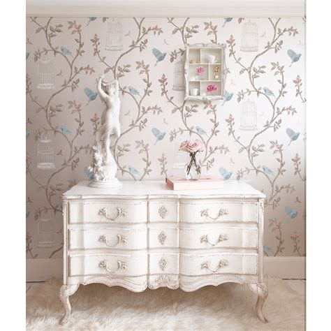 delphine white painted chest of drawers french bedroom company