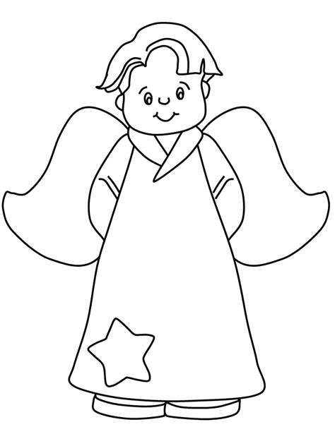 preschool coloring pages angels angel coloring pages getcoloringpages com