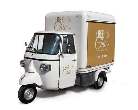 Ape Auto by Food Gt Truck Trailer Ape Car Promo Vehicle
