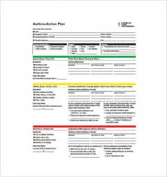 Asthma Care Plan Template by Asthma Plan Template 10 Free Word Excel Pdf