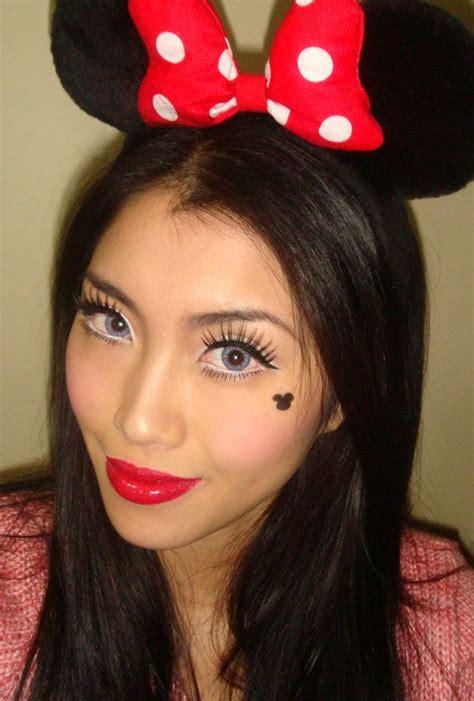 halloween makeup ideas minnie mouse makeup  minnie