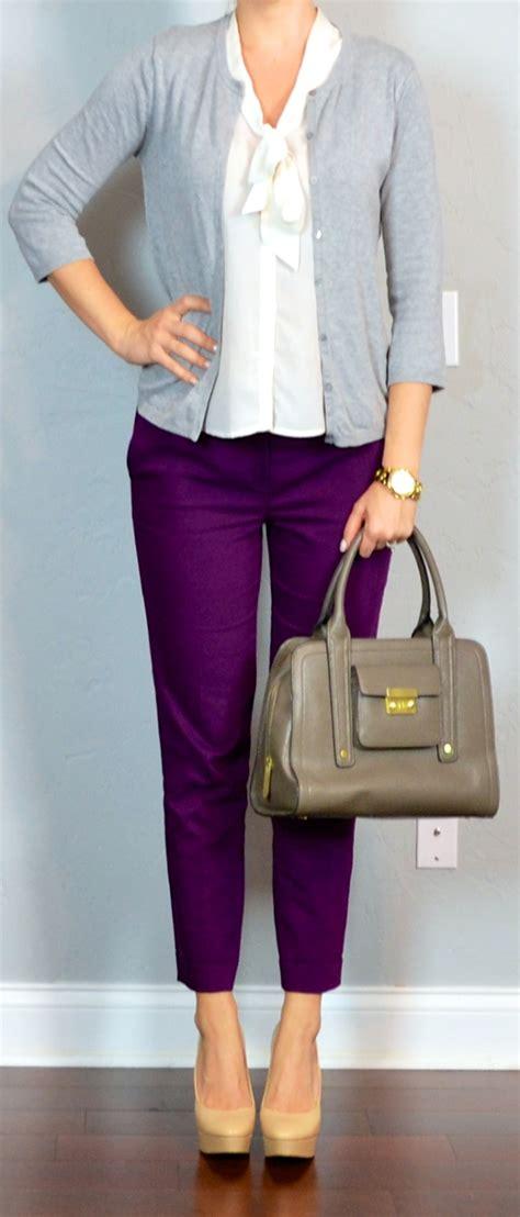 Sweaterjakethoodie Cardigan Purple Colour Wanita Post Purple Cropped White Tie Neck Blouse