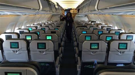 frontier airlines a319 standard seat san diego to denver