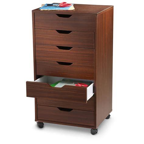 7 drawer storage cabinet winsome halifax 7 drawer cabinet black walnut finish