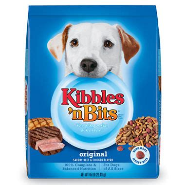 kibbles and bits puppy kibbles n bits original food 45 lbs sam s club
