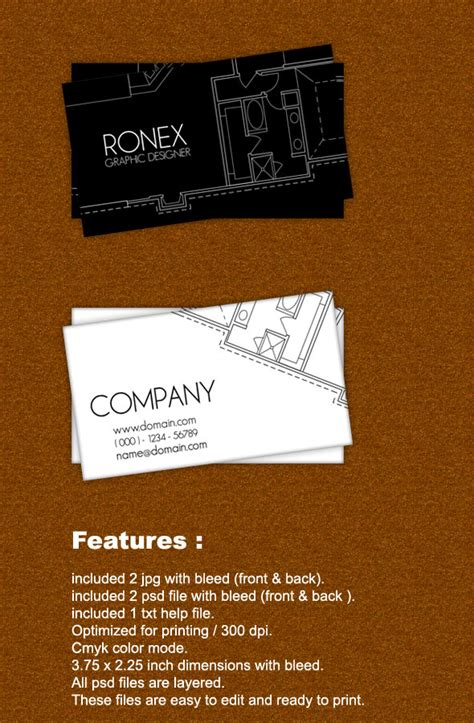 architecture business card by axnorpix graphicriver architect business card by xnorpix on deviantart