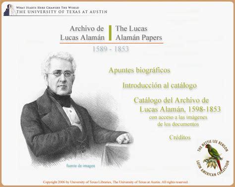 archivo de lucas alaman  lucas alaman papers