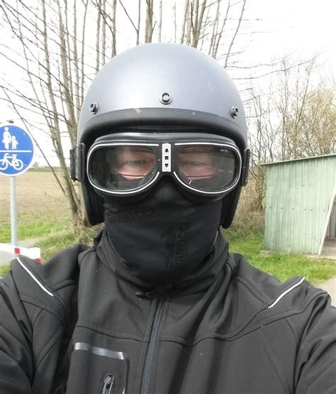 Motorradfahren Mit Jethelm by Welchen Jet Helm Fahrt Ihr S 57 Milwaukee V