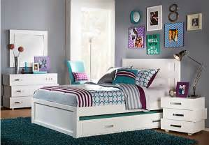 Bedroom Sets For Teens - quake white 5 pc twin panel bedroom bedroom sets white