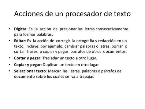 procesador de texto procesador de texto microsoft word 201 0