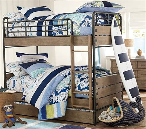 pottery barn bunk beds with trundle 103 best images about bunk beds king