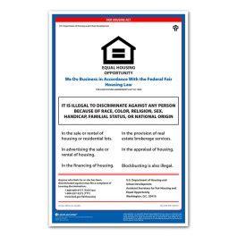 printable fair housing poster fair housing poster replacement poster program