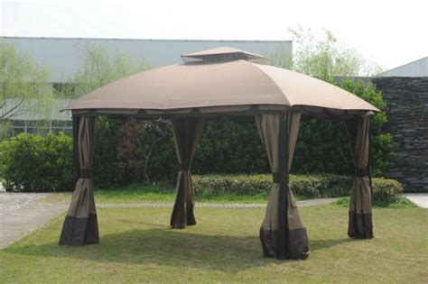 Big Lots Patio Gazebos Big Lots South Hton Gazebo Canopy Replacement Only No Metal Parts Outlet Patio