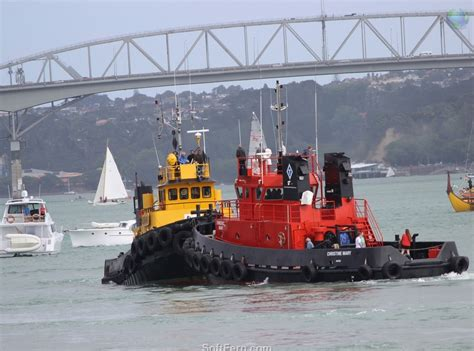 tug boat auckland harbour sers blog auckland anniversary day regatta tugboat