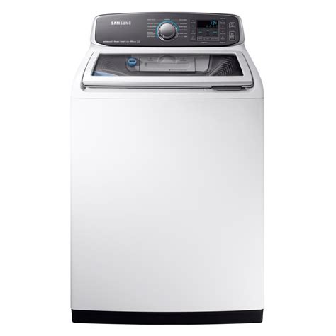 Samsung Washer Electronic Express Samsung Wa52m7750aw 5 2 Cu Ft White Top Load Steam Washer Rakuten