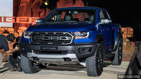 ranger ford 2018 first look 2018 ford ranger raptor in thailand