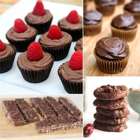 desserts chocolate best healthy chocolate dessert recipes popsugar fitness
