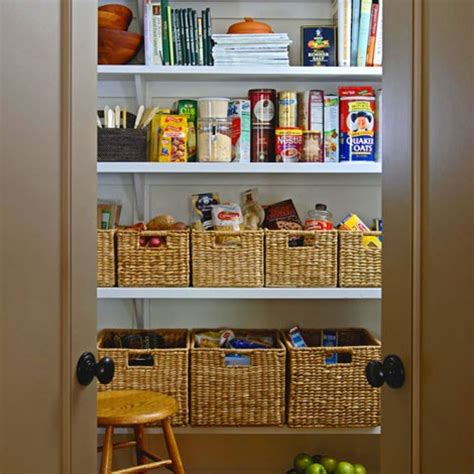 Pantry Storage Baskets by Project Pantry Organization Hates Cooking