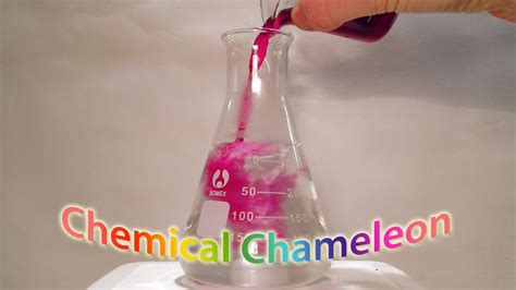 color change chemical reaction colour change chameleon chemical reaction doovi