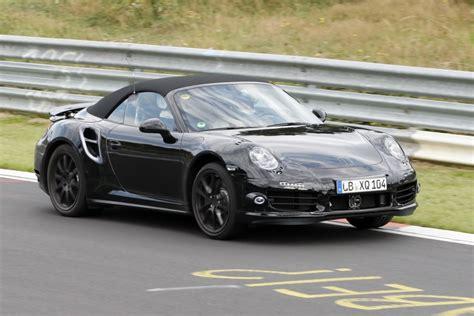 Schnellstes Auto Der Welt Auf Der Stra E by Erwischt Erlk 246 Nig Porshe 911 Turbo Cabrio Das