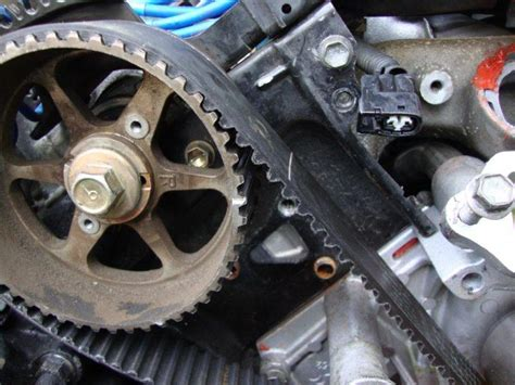 notes  timing belt change   page  club