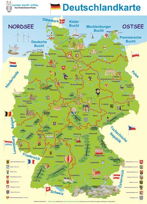 gebirgskarte deutschland deutschlandkarte e z verlag