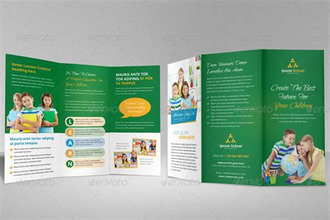 school brochure template free education school trifold brochure template by janysultana