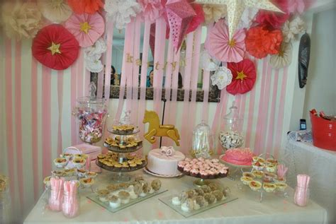 Pink And Gold Baby Shower by A Pink And Gold Studded Baby Shower