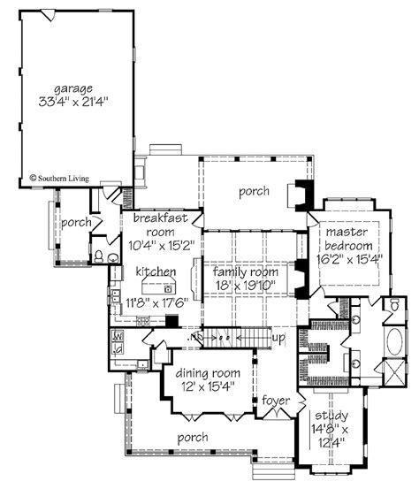elberton way house plan southern living house plans elberton way