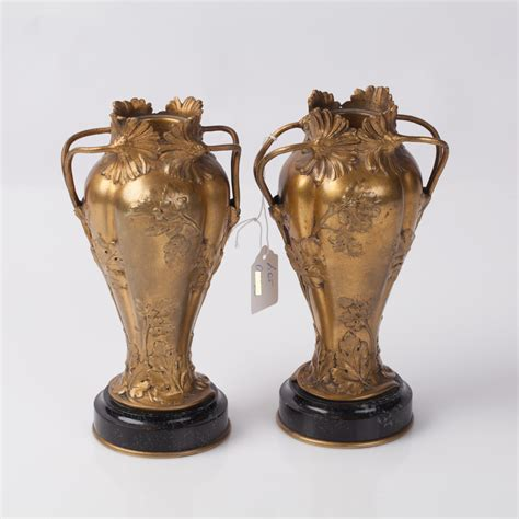 Vase Auction by Lot 0141 Vase Pair Starting Price 300 Baltic Auction