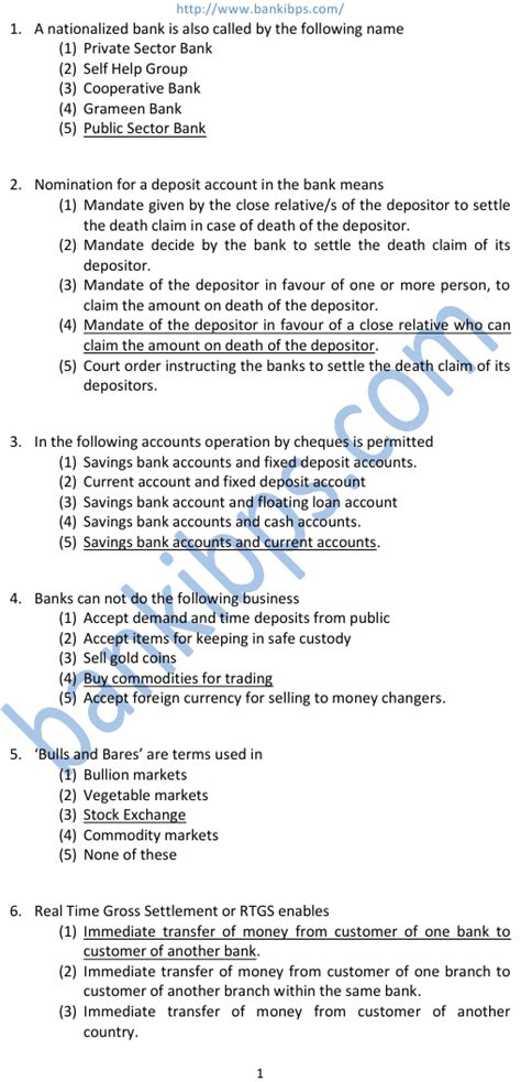 bank related banking related gk