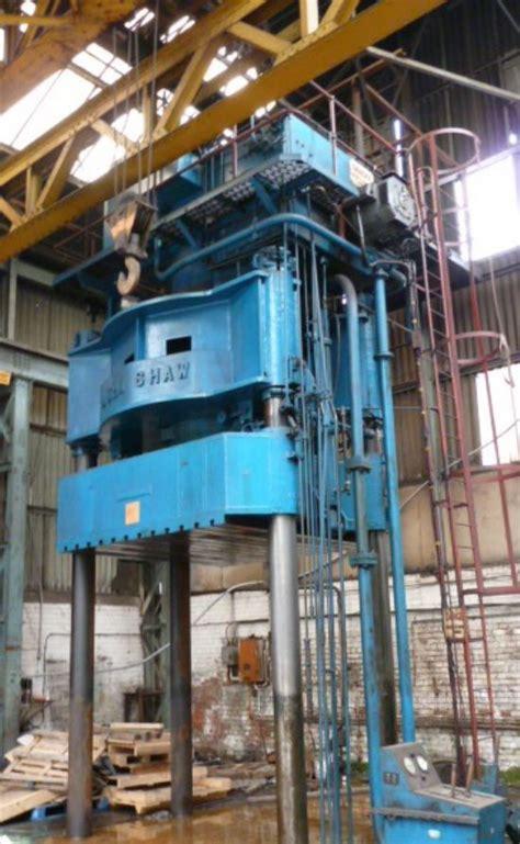 john shaw  ton  post hydraulic press  sale