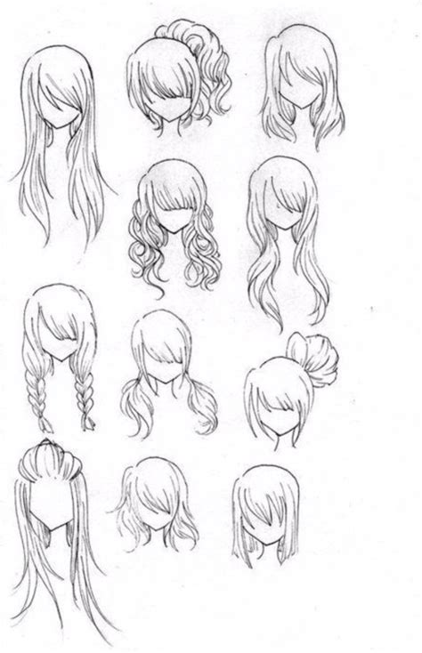 anime hairstyles ideas anime girls hair by glitzy cute on deviantart