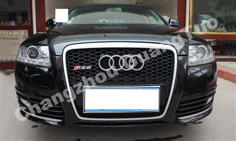 Audi A6 4f Grill by A6 Rs6 Front Bumper Mesh Grille For Audi A6 C6 Buy Mesh