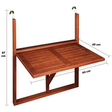 tavolino da terrazzo tavolino da balcone pieghevole legno la scelta giusta 232