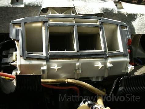 automobile air conditioning repair 1998 volvo s90 instrument cluster dashboard mount repair version 2 0 matthews volvo site