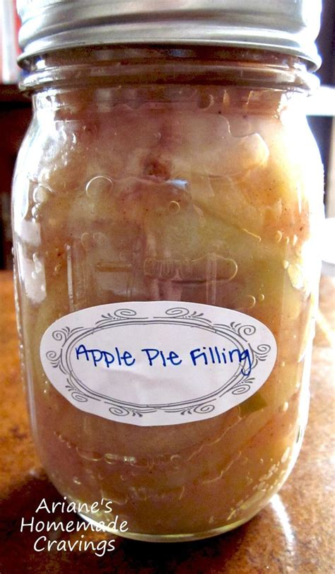 canned apple pie filling recipe canned apples apple