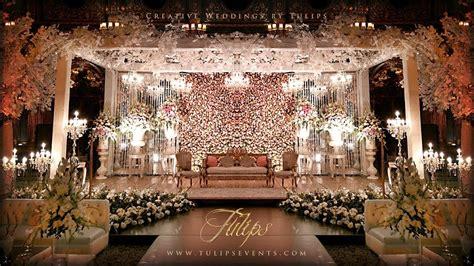 top  pakistani wedding stages decor tulips