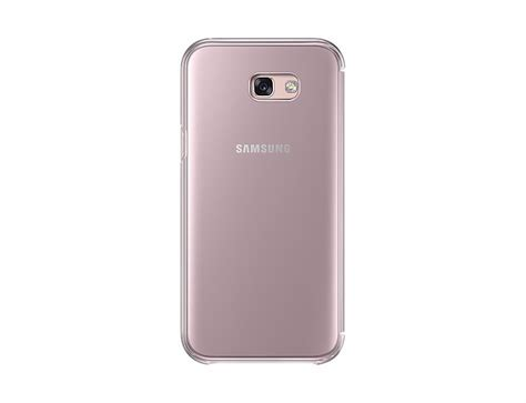 Spigen Armor Samsung A7 2017 A720 estuche original clear view samsung galaxy a7 2017 rosa