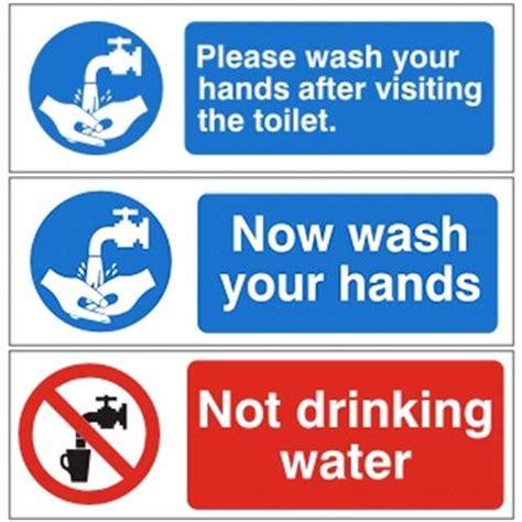 bathroom hygiene mandatory bathroom hygiene signs