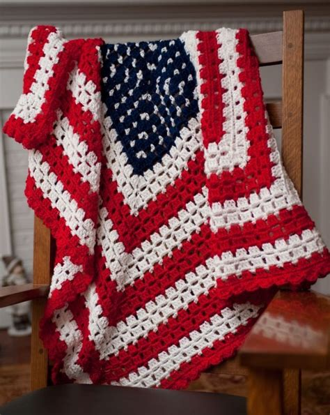 pattern crochet lap blanket pattern for crocheted american flag patriotic baby blanket