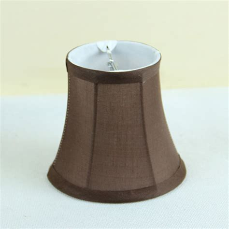 Chandelier L Shade Covers Chocolate Brown Fabric Wall L Shades Covers Modern Chandelier Mini L Shade Clip On In