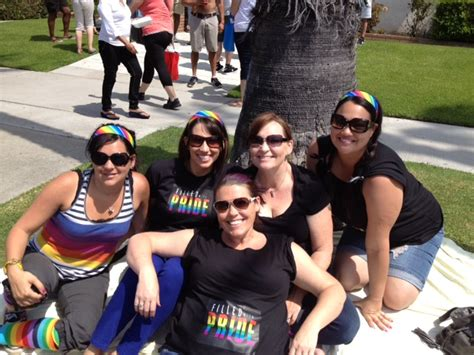 group  surrogates attends long beach gay pride