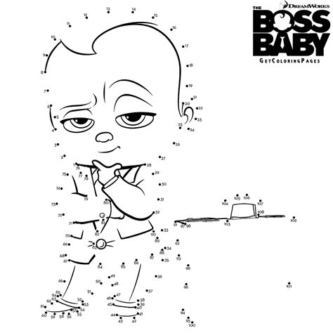 printable dot to dot scooby doo top 10 the boss baby coloring pages