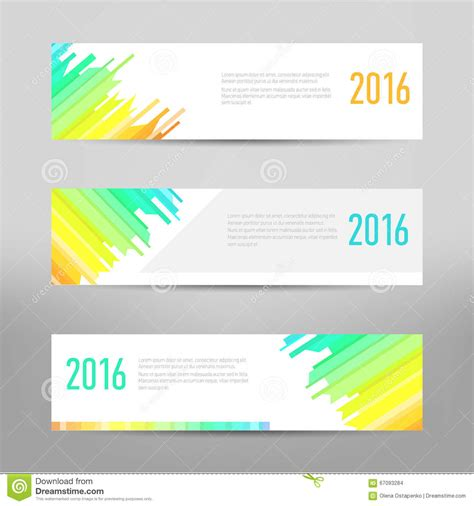 layout design for banner modern banner business banner flyer design vector