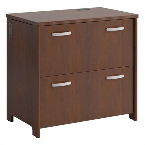 Lateral 2 Drawer File Cabinet Filing Cabinet File Storage Envoy 2 Drawer Lateral In Hansen Cherry Ebay