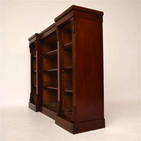 mahogany bookshelves for sale antique mahogany open bookcase for sale at 1stdibs