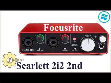 Focusrite 2i2 Second focusrite 2i2 2nd review test