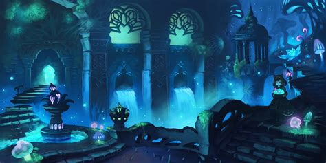 Anime Underground by 2000x1000 Anime Underground World Waterfall